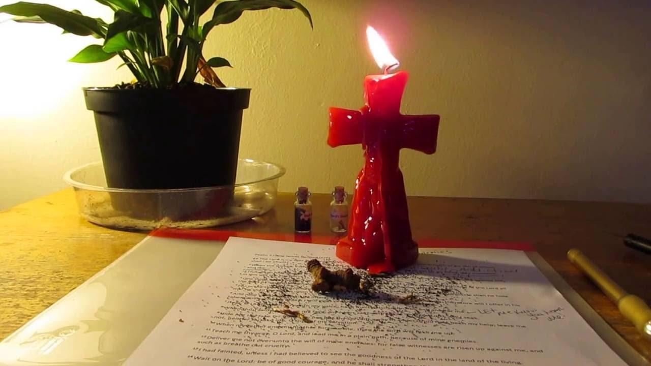 Hoodoo Conjure Work, Psalms 27