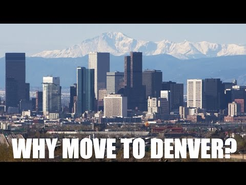 WHY MOVE TO DENVER, COLORADO? TOP 5 REASONS (русские субтитры!)