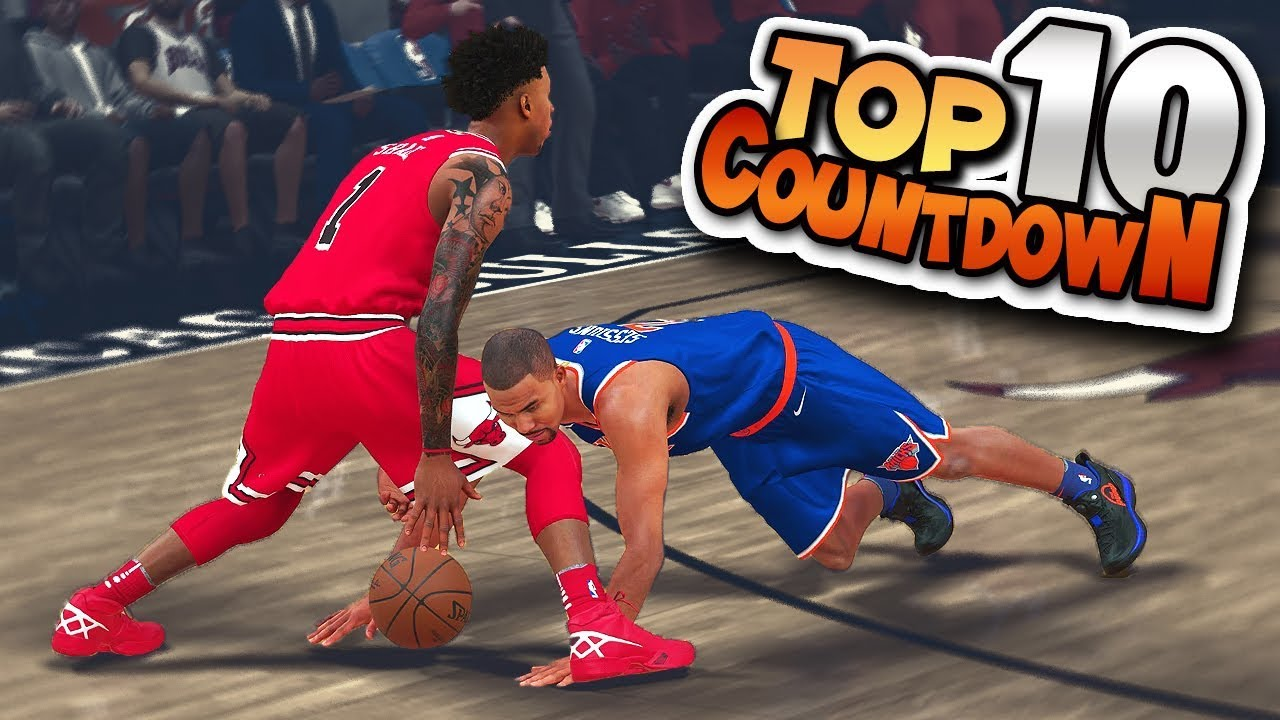 TOP 10 PLAYS CountDown #1 Posterizers, Buzzer Beaters, Ankle Breakers & More - NBA 2K18 Highlights