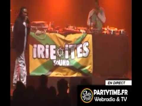 GLEN WASHINGTON  backed by IRIE ITES SOUND @ SPRING REGGAE FEST # 6 - LE MANS - FRANCE (2012)