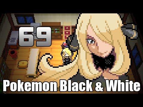 Pokémon Black & White - Episode 69 [Cynthia Battle Finale ...