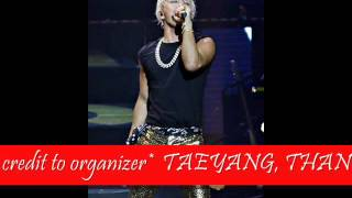 (MP3 concert ver) Taeyang Rise in Malaysia 2015 - LOVE YOU TO DEATH