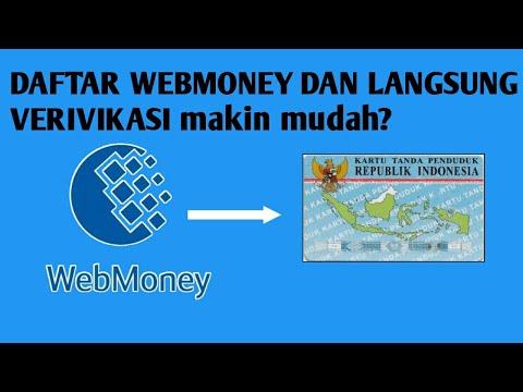 CARA VERIVIKASI WEBMONEY DENGAN KTP