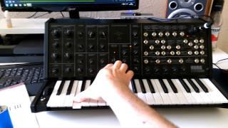 Korg MS 20 mini jam - Mogwai Simon Ferocious