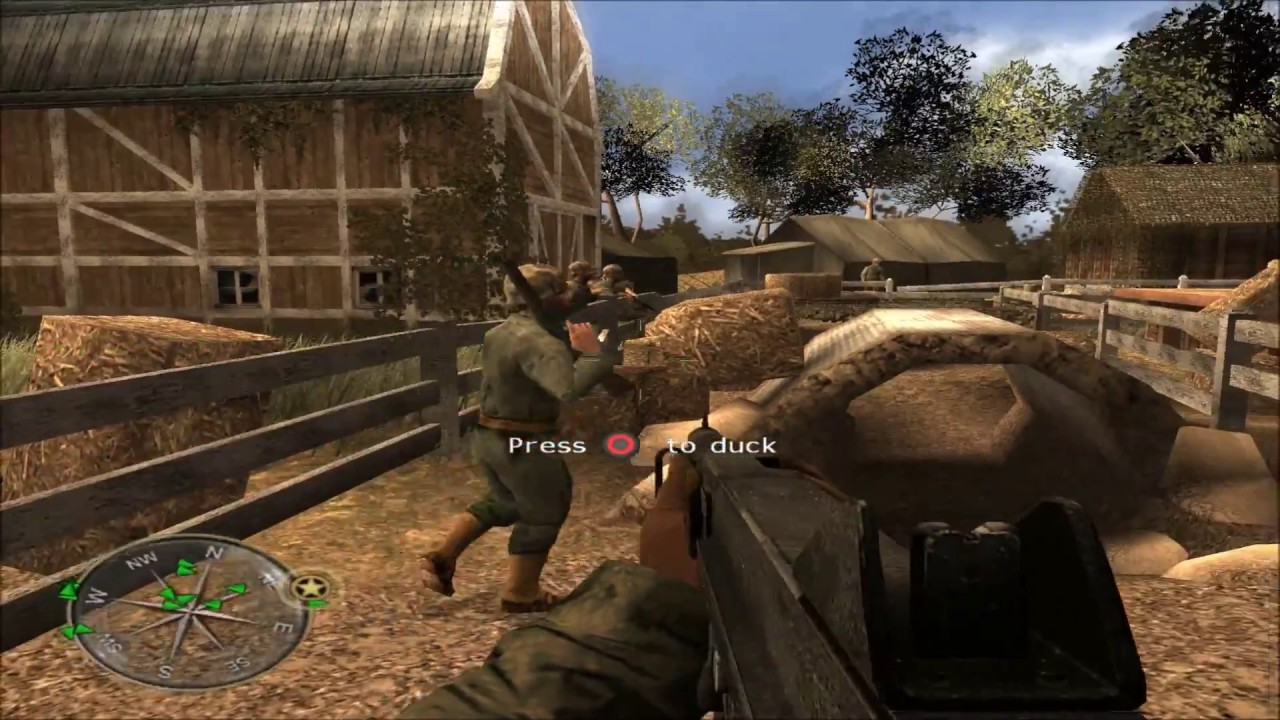 Call of Duty: World at War Final Fronts - PCSX2 1080p Gameplay ...