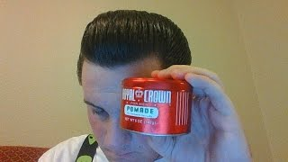 Royal Crown Pomade (Not the Hairdressing) Review