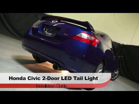 spyder auto installation 2006 2008 honda civic 2 door led. Black Bedroom Furniture Sets. Home Design Ideas