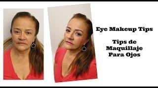 Tips de maquillaje para ojos (Piel Madura) / Eye Makeup Tips (Mature Skin) Video Thumbnail