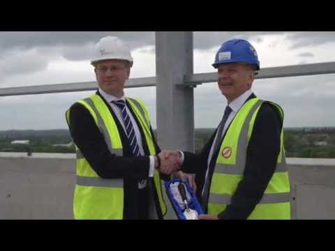 Lord Swraj Paul Building: Topping Out Ceremony