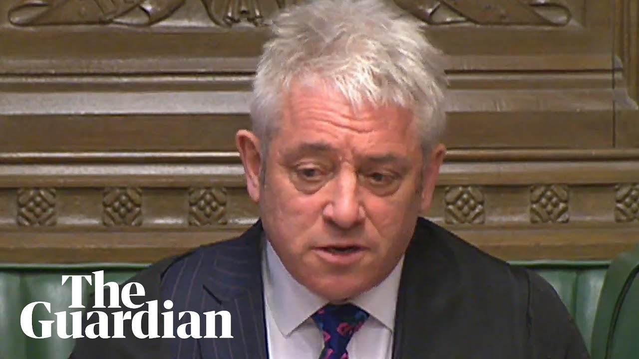 Bercow defends Parliament after Brexit delay: 'None of you is a traitor'