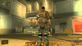 We get called back into work and deal with some terrorists This is a pacifist otherwise maximum xp playthrough of Deus Ex Human Revolution