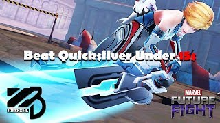 Beat Quicksilver Under 15 Seconds (with 2 different teams) -  Marvel Future Fight