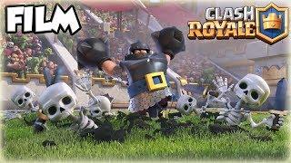 CLASH ROYALE FILM ANIMATION DES NOUVELLES CARTES !!!