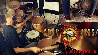 Guns'N'Roses - Nightrain - Steven Adler Drum Cover by Edo Sala with Drum Charts