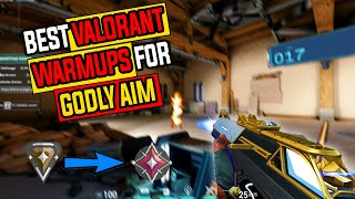 Valorant Warm Up Routine To Get *GODLY AIM* (IMMORTAL AIM Routine)