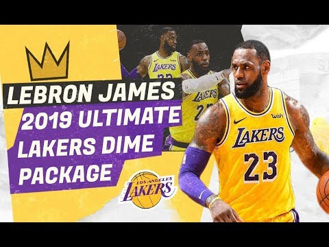 LEBRON JAMES ULTIMATE 2019 LAKERS DIME PACKAGE