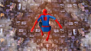 JUMPING Off the HIGHEST Building In The Game! - Spiderman PS4