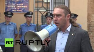 "Ukraine: Dozens demand complete ban of ""villainous"" communist party"