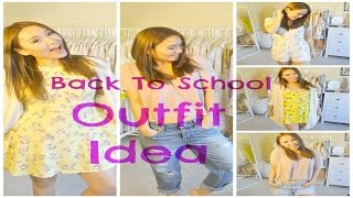 5 Back To School Outfit Ideas!! Thumbnail
