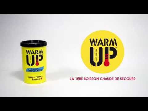Warm Up Hot Drink - canette autochauffante DM DIFFUSION