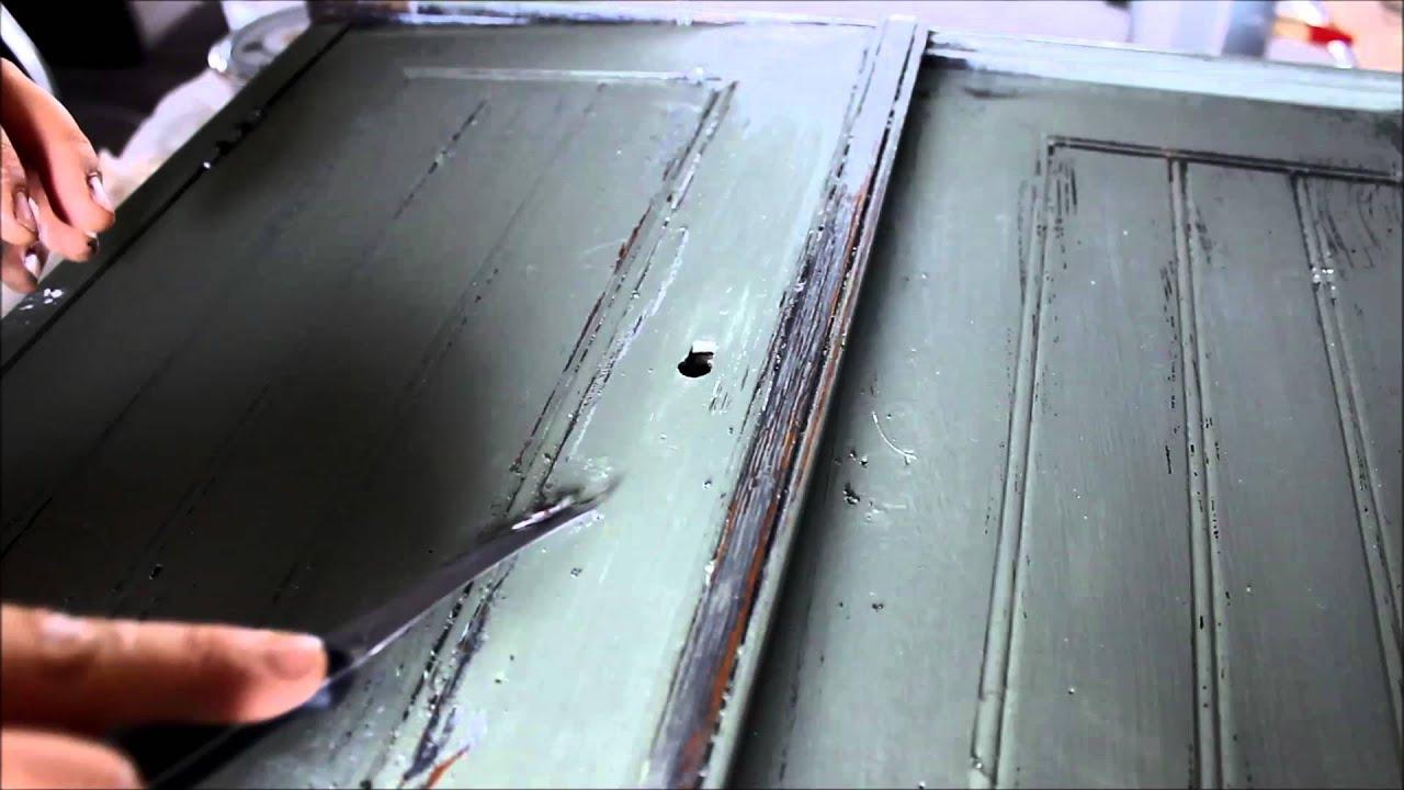 DIY Shabby Möbel mit Kreidefarbe und Wachs - YouTube