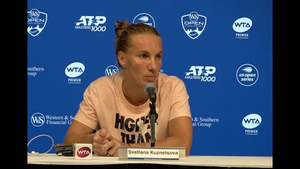 Svetlana Kuznetsova Press Conference | 2019 Western & Southern Open Final