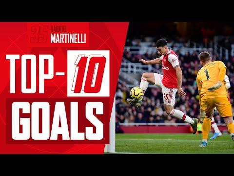 Ranking Gabriel Martinelli's Top 10 Goals for Arsenal