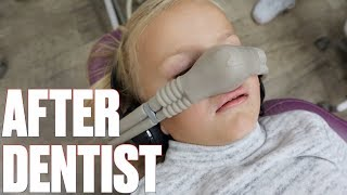 GETTING EIGHT CAVITIES FILLED IN ONE DAY! CRAZY DAY AT THE DENTIST | LAUGHING GAS