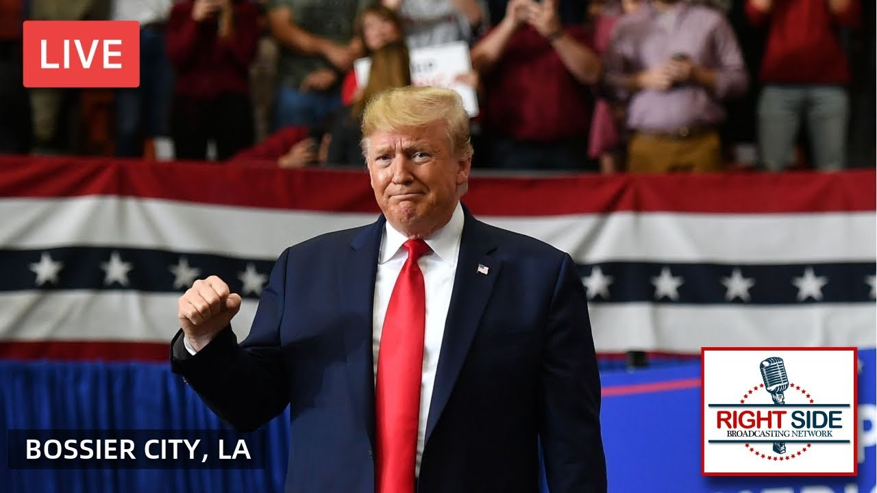 RSBN LIVE: President Donald Trump Holds KAG Rally in Bossier City, LA 11/14/19