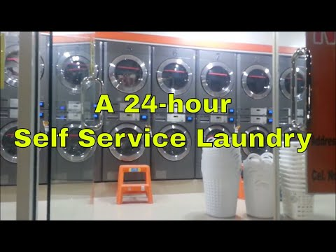 SPEED SPIN TAGUIG: A 24 hour Self Service Laundry