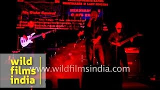 Rock band Frozen sings Hindi song in Ranka, Sikkim