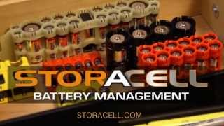 Storacell Battery Cases and Battery Holders Deliver Performance