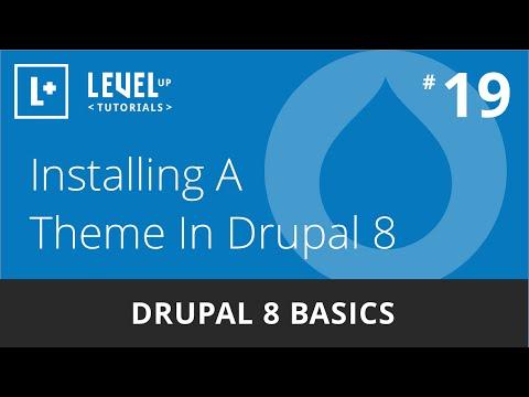 Drupal 8 Basics #19