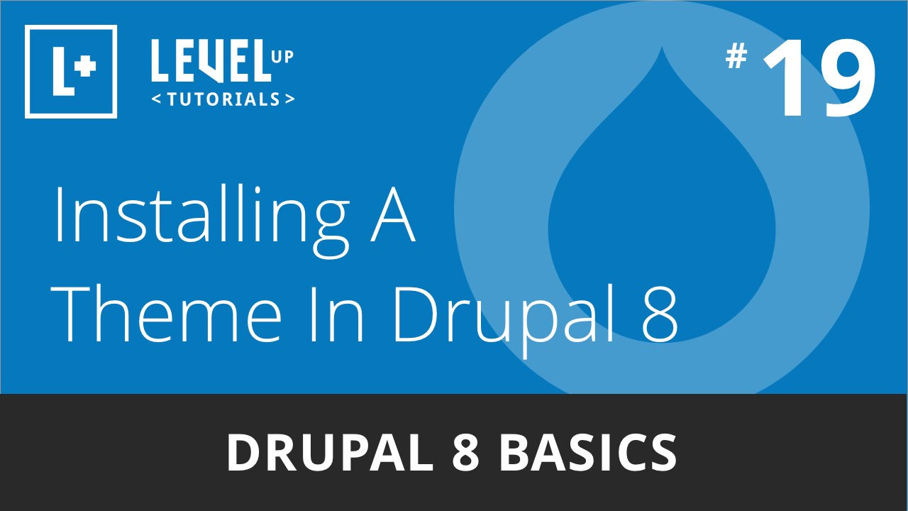 drupal 8 themes youtube