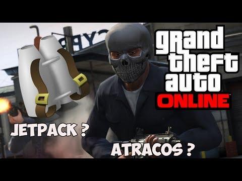 GTA V ONLINE - Rockstar Esconde El Jetpack y Atracos En Primavera ?