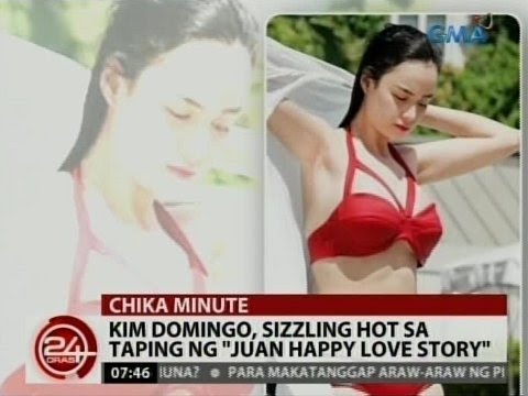 24 Oras: Kim Domingo, sizzling hot sa taping ng 'Juan Happy Love Story'