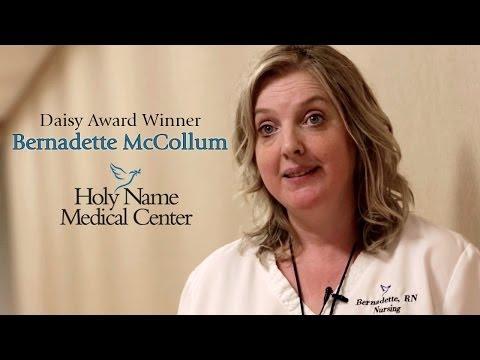 Bernadette McCollum : Holy Name Medical Center Daisy Award Winner