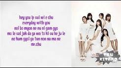 Apink lyrics Mr chu - Free Music Download