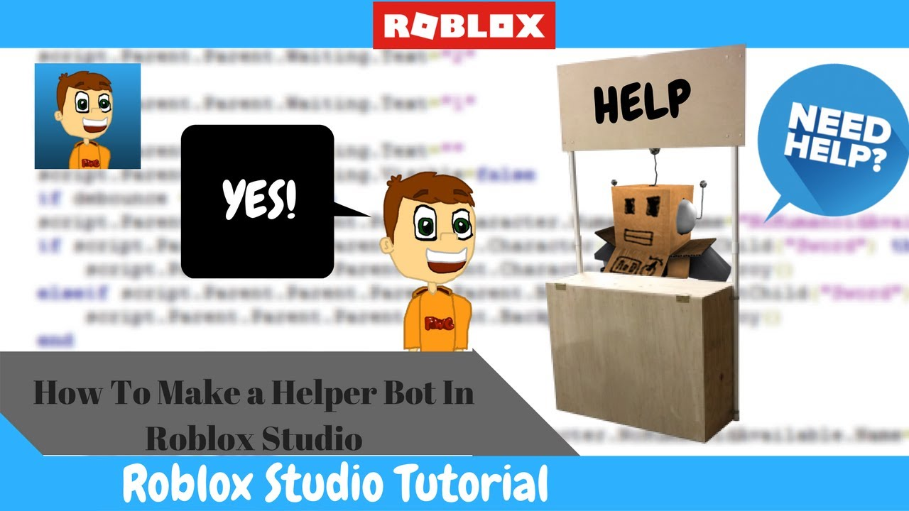 How to make a youtube video roblox
