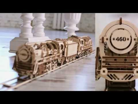 UGEARS: Self-moving mechanicals models