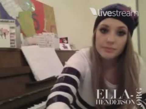 Ella Henderson live chat (30th December, 2012)
