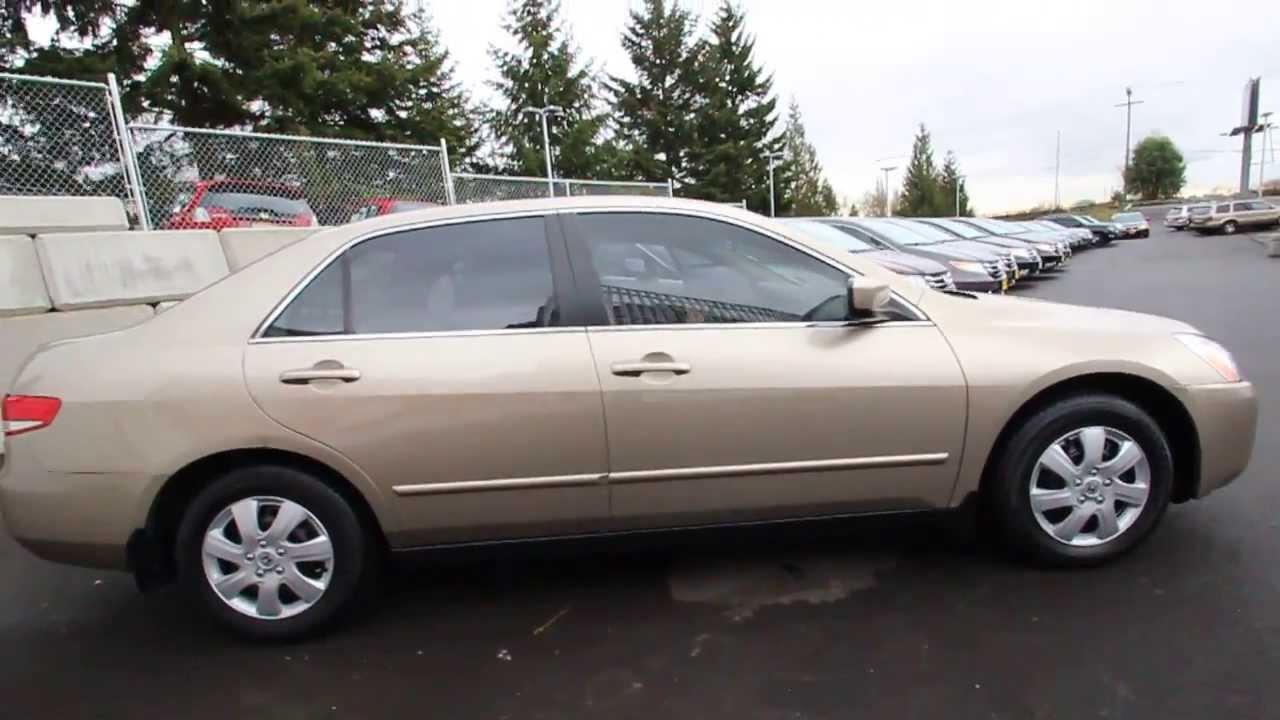 2003 Honda Accord LX | Gold | 3C064082 | Seattle | Renton