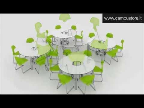 Arredi modulari per la scuola ambienti digitali e spazi for Arredi per alberghi e hotel