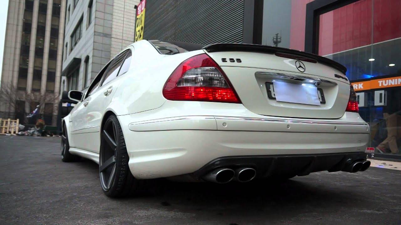 Supersprint Exhaust E55 Amg Www I Carshop Com Youtube