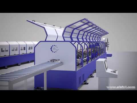 MPA300 is a fully automated LGSF CNC multi-line