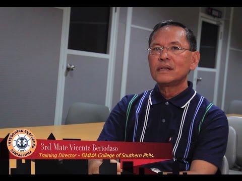 "ISP ""Kwento ng Tagumpay"" featuring - 3rd Mate Vicente Bertodaso"