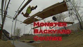 My Huge Backyard Ninja Warrior Course Grand Tour
