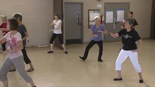 Maiden Works Shuttle, Flash Arms, Needle, Deflect Parry Punch...everydaytaichi lucy