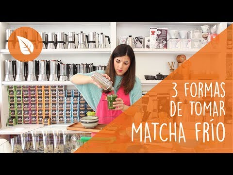 Descubre 3 formas de tomar té Matcha frío!