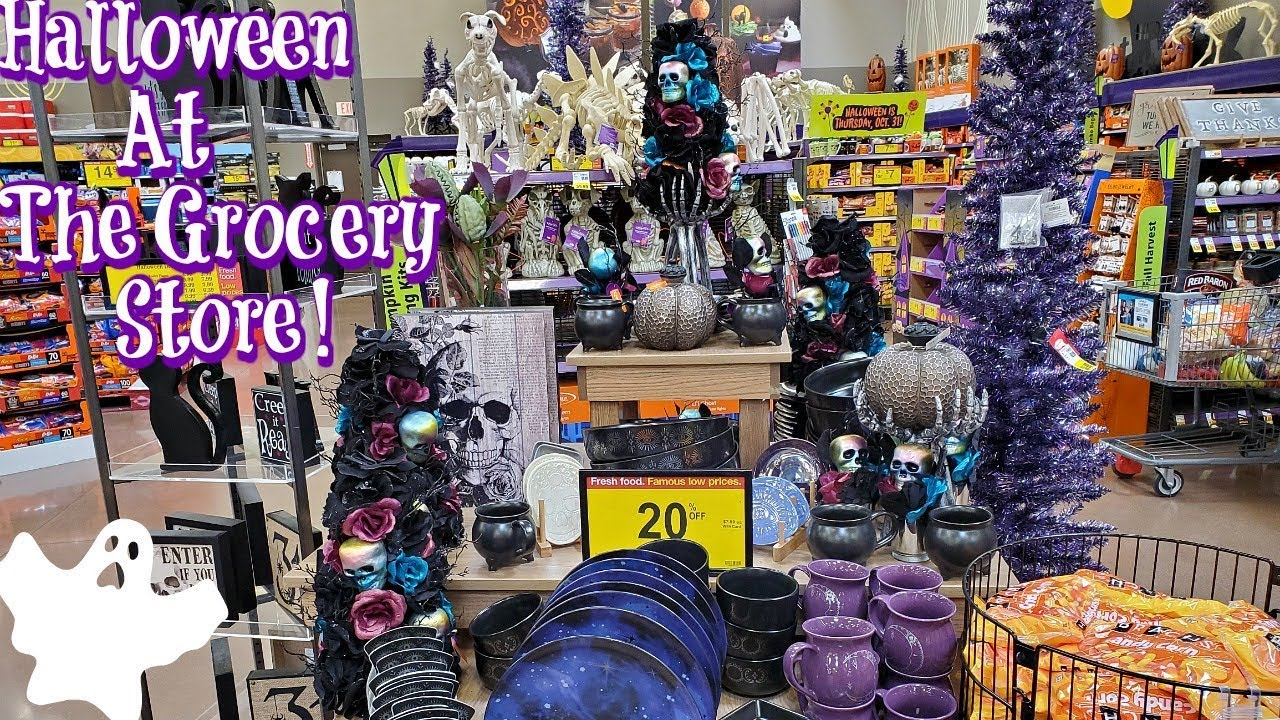 Krogers Halloween 2020 HALLOWEEN SHOPPING AT FRY'S / KROGER 2019   YouTube
